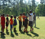 Football Mini-camp was well attended!